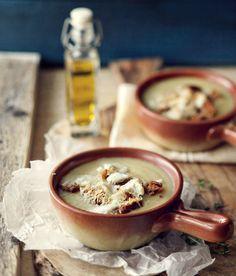 Supe qepe dhe buke e thekur me djathe