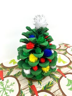 Fun and Festive Pine Cone Christmas Tree Craft Project