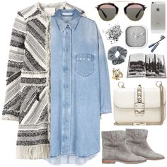 2132. Grey by chocolatepumma on Polyvore featuring polyvore, fashion, style, Rebecca Taylor, Isabel Marant, Christian Dior, Topshop, Karlsson, Assouline Publishing and Clips