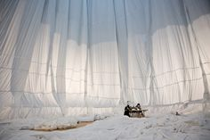 Big Air Package, Installation by Christo