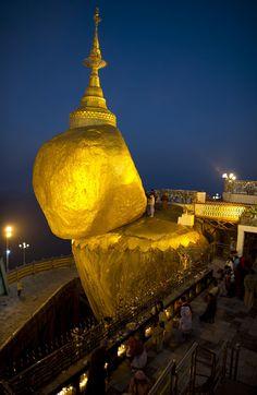Kyaikhtiyo, Burma