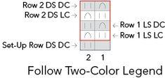 2 color StockBr Stockinette Brioche Stitch
