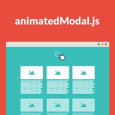 animatedModal.js is a jQuery plugin to create a fullscreen modal with CSS3 transitions. You can use the transitions from animate.css or create your own transitions.
