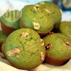 Cupcakes met groene thee