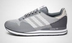ADIDAS ORIGINALS Size 11.5 Mens ZX 500 OG Weave Shoes Medium Lead/White M20995  #adidas #RunningCrossTraining