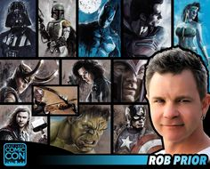 """*PIN to WIN* Please welcome back Salt Lake Comic Con guest… artist, director, and writer Rob Prior! He is one of the premier photo-realistic airbrush artists in the world. Rob has worked with Marvel Comics, DC Comics, Todd McFarlane, Image Comics and more. He has worked in production design/art direction on shows like Firefly, Angel, and FX's Nip/Tuck, and video games Ghost Rider and The Darkness. He directed the feature film """"No Turning Back,"""" and created the upcoming """"Red Brick Road"""" for…"""