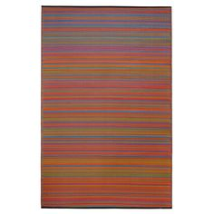 Cancun Multicolor Outdoor Mat | Fab Habitat | DFOHome