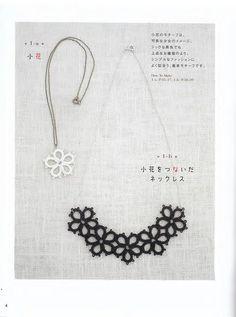 tatting necklace pattern by LibraryPatterns