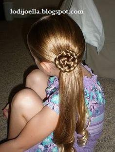 Peinado de nena