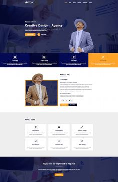 Avrow is a great looking template that you can use to create a landing page or a business site. This template is based on Bootstrap 4 and offers you Website Layout, Web Layout, Website Ideas, Layout Design, Hotel Website Templates, Insurance Website, Creative Design Agency, Modern Website, Tourism Website