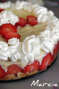Recette facile du fraisier - Recette - MarciaTack