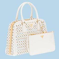 LOVE the Prada Pyramid bag and matching purse! WISH LIST!