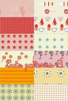 Cute patterns 03 by foley-resources.deviantart.com on @DeviantArt