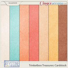 Trinketbox Treasures: Cardstock
