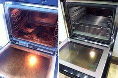 Quem odeia limpar o forno vai adorar esse truque. Ele ficará brilhando como novo sem esforço.