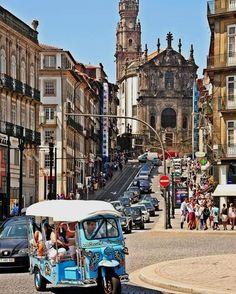 Tuk Tuk Porto & North of Portugal. Visit Portugal, Spain And Portugal, Portugal Travel, Most Beautiful Cities, Beautiful Places To Visit, Places To See, Porto City, Portuguese Culture, Europe