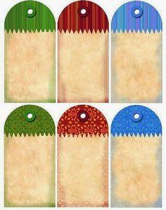 Colores: Etiquetas Retro para Imprimir Gratis.                              …