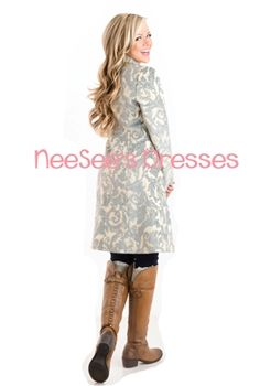 I WANT this! NOW! NeeSee's Designer tapestry Coat.