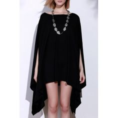 SHARE & Get it FREE   Simple Solid Color 1/2 Batwing Sleeve Asymmetric Loose Top For WomenFor Fashion Lovers only:80,000+ Items·FREE SHIPPING Join Dresslily: Get YOUR $50 NOW!