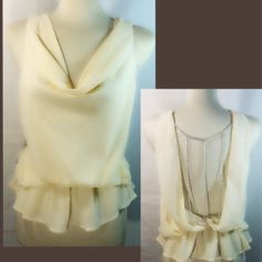 NWT Cream Blouse The Company Clothing  - $25