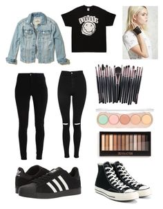 """My wish list"" by olahtory on Polyvore featuring adidas, Topshop, Converse, Hollister Co. and Forever 21"