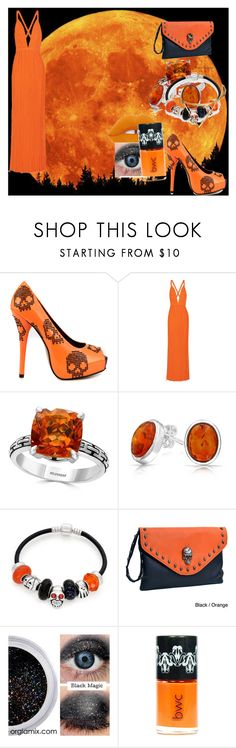 """Welcome to Halloween!"" by davissabrina ❤ liked on Polyvore featuring Iron Fist, Haider Ackermann, Effy Jewelry, Bling Jewelry, Dasein and Lime Crime"