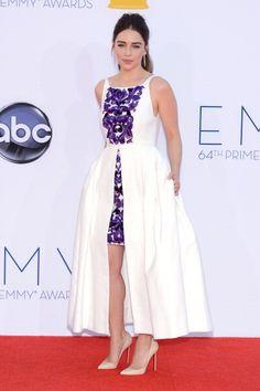 2012 Emmys Red Carpet: Daenerys Targaryen Emilia Clarke in Chanel.