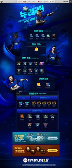 Web Design, Game Design, Web Sport, Promotional Design, Event Page, Web Banner, Champions League, Banner Design, Typo