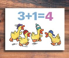 4 LITTLE DUCKS by WooWooLucy on Etsy