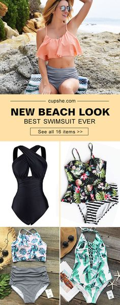 This summer sale can't get any hotter! Hot summer break is waiting for you! Cupshe.com pick all new and best swimwear for you to try. You derserve one perfect swimsuit to shine in the beach party. Shop Now!