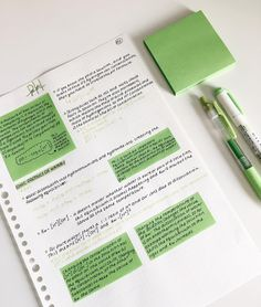 i really like the color of thesw post-it notes. i really like the color of thesw post-it notes. School Organization Notes, Study Organization, College Notes, School Notes, Bullet Journal Notes, School Study Tips, Study College, Pretty Notes, Study Hard