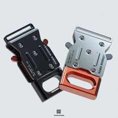 Metal Buckles, Luggage Bags, Industrial Design, Outdoor Gear, It Works, Objects, Hardware, Personalized Items, Detail