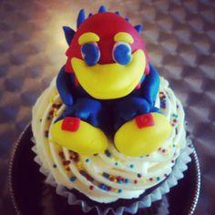 University of Kansas Jayhawk Cupcake
