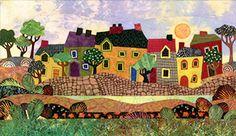 Art Quilt - Judith Reilly - Artista fibra