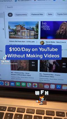 Making Money Teens, Money Making Crafts, Online Jobs For Teens, Online Jobs From Home, Life Hacks Websites, Useful Life Hacks, Earn Money From Home, Earn Money Online, Make Money Youtube