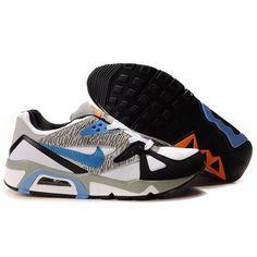 Best Sale Nike Air Max 91 Men Blue Cement Grey Shoes $65 http://findanswerhere.com/mensshoes