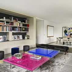 Study With Yves Klein Table And Globe Living Room Pinterest Yves Klein Tables And Chic