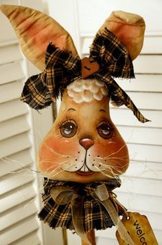 I had to have this bunny so I bought another of Jody's items - Sweet Bear Creek Whims