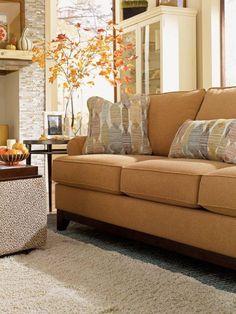 The Talbot Sofa By La Z Boy What A Fun Color La Z Boy Furniture
