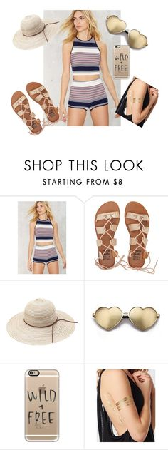 """""""A Day in the Beach"""" by shassydee on Polyvore featuring Billabong, Wildfox, Casetify and La Senza"""