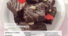 Brownie Met Glazuur En Amandelen recept | Smulweb.nl