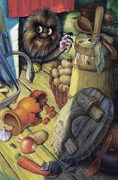 - little critter Funny Monsters, Baba Yaga, Children's Book Illustration, Book Illustrations, Thomas Kinkade, Little Critter, Monster Art, Country Art, Inspiration For Kids