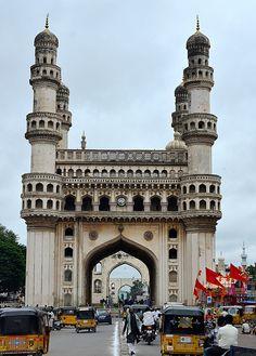 Through the Charminar Gate, India