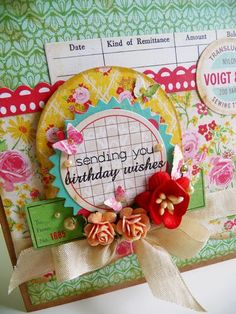 kkm Papers: Crate Paper Stickers: Crate Paper Dies: Papertrey Ink Stamp: Papertrey Ink Pearls: Kaisercraft Bling: Prima Punch: Martha Stewart Seam binding: The Ribbon Girl Flowers: Wild Orchid Crafts Other: 3D foam, Distress Stickles, Corner Chomper Card 2011-06-19