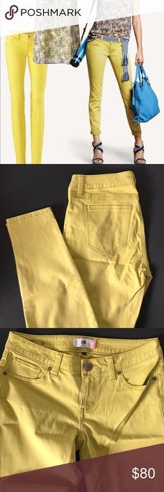 CABI NWT Citron Skinny Jeans #5084 BRAND NEW in original package CABI NWT Citron Skinny Jeans #5084. The color is more of a greenish yellow not as bright yellow as depicted in the official CAbi photos which is why I am selling. CAbi Jeans Skinny