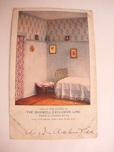 Vintage Advertising wallpaper interiors by NeatstuffAntiques, $50.00