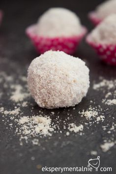 rafaello z kaszy jaglanej Gluten Free Baking, Deserts, Food And Drink, Cake, Sweet, Fit, Christmas, Diets, Raffaello
