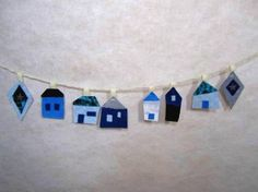 minne(ミンネ)| 青い家のガーランド