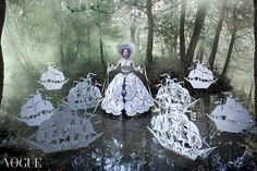 Vogue Italia photo of the day by Kirsty Mitchell Photography