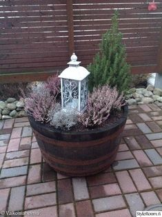 puutarha Fountain, Outdoor Decor, Plants, Home Decor, Decoration Home, Room Decor, Water Fountains, Plant, Home Interior Design